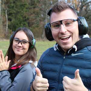 Team Experience Shooting Range Prague